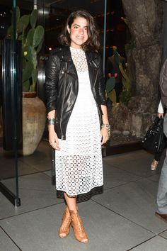 Dolce & Gabbana Store Opening & Net-a-Porter Dinner - Celebrity and Fashion Photos May 2013 - Leandra Medine