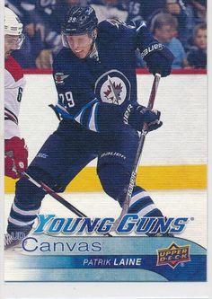 16-17 UD Series One Young Guns Canvas  C106 Patrik Laine Winnipeg Jets  Rookie 7b21f758f