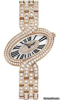 Cartier Delices de Cartier Large Pink Gold $114,540 #Cartier #watch #watches…