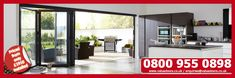 Get a super stylish Bifold Door set for your home today from only Doors, Home, Bifold Doors, Stylish Doors, New Homes, House, Door Sets, Living Spaces, House Extensions