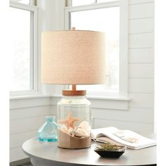 Enjoy table lamps like no one else's with the Threshold Fillable Ambient Lighting Collection. These unique table lamps let you add light, depth and texture to a room. You can fill the clear glass Clear Glass Table Lamp, Glass Lamp Base, Lamp Table, Fillable Lamp, Unique Table Lamps, Jar Lamp, Lamp Bases, Pisa, Home Decor