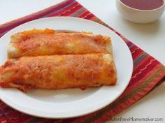 Chicken Enchiladas at Gluten-Free Menu Plan | The Gluten-Free Homemaker