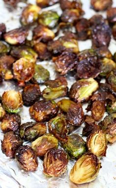 Crispy Asian Brussels Sprouts - sweet, spicy, savory & oh so addicting!