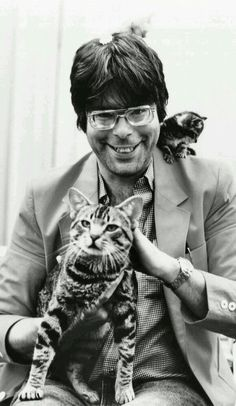Cats and King ...smile and say....