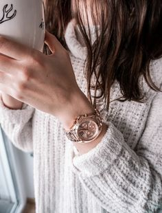 Michael Kors watch bradshaw mini rose gold / jewellery, fashion