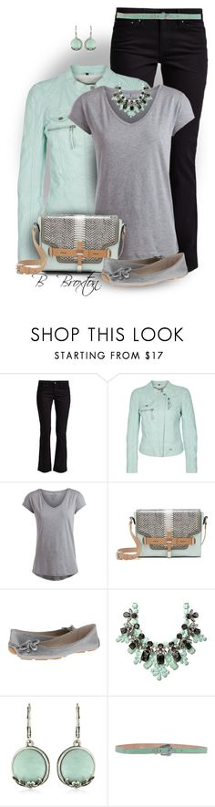 """Boot cut Jeans"" by bbroxton ❤ liked on Polyvore featuring Levi's, Freaky Nation, Pieces, Vince Camuto, Elie Tahari, Ek Thongprasert, Vintage America and Pepe Jeans London"