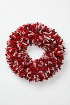 Peppermint Stick Wreath.  Yep, I own this.