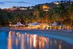 Beach at dusk (Resort amenities subject to change.)