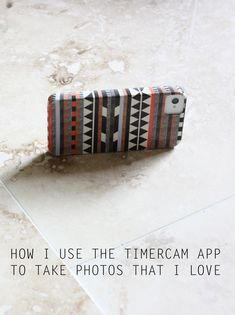TimerCam photo app tips