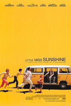 Little Miss Sunshine Little Miss Sunshine-watched with Clearplay-I don't think I laughed once during this movie. I love dark and dry comedies (such as Wes Anderson, obviously) but this wasn't even close to funny, or quirky, or anything, really. Iconic Movie Posters, Movie Posters For Sale, Iconic Movies, Cool Posters, Good Movies, Cinema Posters, Art Posters, Vintage Movie Posters, Watch Movies