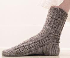 Mirror sock : Knitty.com - Deep Fall 2014 - free knitting pattern