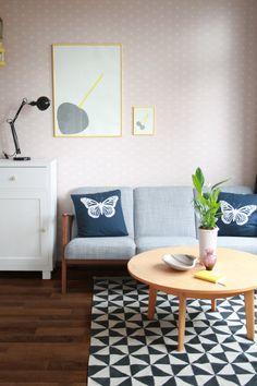 Wieder ist eine Wohnung fertig! #interior #einrichtung #dekoration #decoration #wohnen #living #room #Zimmer #Vintage #wohnzimmer #livingroom #vintagewohnzimmer Foto: oskarlino