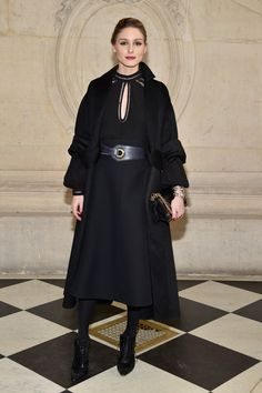 Olivia Palermo attends the Christian Dior show as part of the Paris Fashion Week Womenswear Fall/Winter 2017/2018 at Musee Rodin on March 3, 2017 in Paris, France.