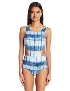 Women's Isla Tie Dye One Piece Swimsuit Swimsuits For Big Bust, Swimsuits For Curves, One Piece Swimsuit, Fashion Brands, Indigo, Tie Dye, Topshop, Swimwear, Stuff To Buy