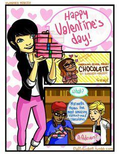 Prodigiosa: Las aventuras de Ladybug & Chat Noir                                      Cómic ''Happy Valentine's day''                           Part 1        (Créditos a quien corresponda)