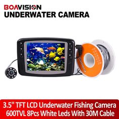 114.86$  Watch now - http://alikv6.worldwells.pw/go.php?t=32263313250 - Underwater Fishing Camera System 8 IR LEDs 30M cable Underwater Fish Camera With Portable 3.5 TFT LCD Fish Finder Night Vision 114.86$