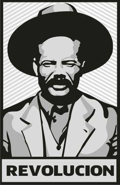 Pancho Villa by Fernando Garza, via Behance Mexican Heroes, Mexican Art, Pancho Villa, Sketch Manga, Mexican Revolution, Spanish Art, Grunge Art, Nose Art, Stencil Art