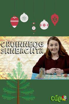 Sa bhfíseán seo taispeánfaidh Caitríona McCormack duit cén chaoi do Chruinneog sneachta féin a chruthú. Seo