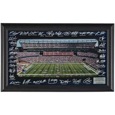 New England Patriots Highland Mint Signature Gridiron Panoramic Photo -