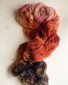 volcano in the dye studio 🌋