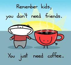 I ♥ you, coffee