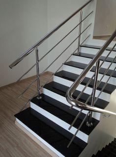 granito preto absoluto escada - Pesquisa Google
