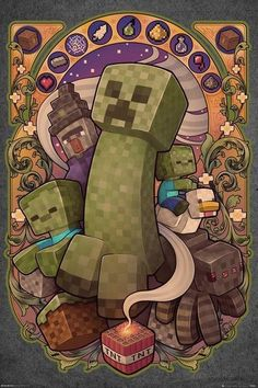 Minecraft Legal, Minecraft Kunst, Minecraft Drawings, Minecraft Mobs, Cool Minecraft, Minecraft Buildings, Minecraft Posters, Minecraft Pictures, Gaming Posters