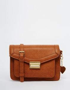 Marc B | Marc B Small Cross Body Satchel at ASOS