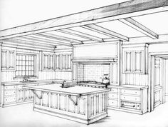 kitchen perspective - Google Search