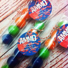 paintball ammo favors