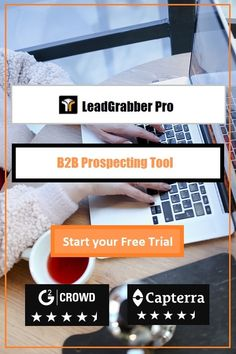 LeadGrabber Pro is the world's Best tool from It is used by and teams to build lists, cold calling lists, of prospective clients from Professional Networking sites. Sales And Marketing, Email Marketing, Sales Prospecting, Professional Networking, Cold Calling, Business Emails, Lead Generation, Social Media, Tools