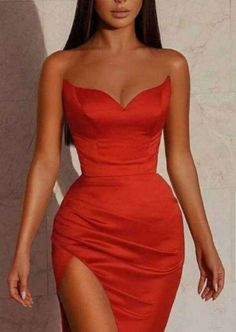 Mermaid Bridesmaid Dresses, Strapless Prom Dresses, Bridesmaid Dress Styles, Gala Dresses, Satin Dresses, Affordable Prom Dresses, Elegant Dresses, Formal Dresses, Long Dresses