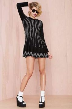 Nellie Knit Dress | Shop What's New at Nasty Gal