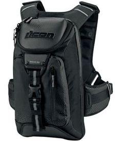 5a215abf0e9 icon squad 3 mochila resistente al agua moto gear bolsa portatil bolsillo  negro