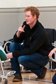 Prince Harry attends the launch of the Invictus Games selection process at Tedworth House on 29.04.2014 in Tidworth, Wiltshire, England.