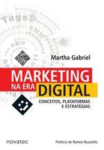 Marketing na Era Digital - best seller. Livro dividido em 4 partes que abrangem o marketing na era digital: conceitos de marketing / o ambiente digital de marketing / plataformas digitais / estratégias digitais