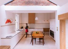Preston Lane Architects renovates kitchen of 19th-century house in Tasmania.