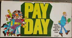 PARKER BROTHERS: 1975 Payday Game #Vintage #Games