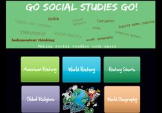 "http://www.gosocialstudiesgo.com/  This is a neat site, maintained by a teacher, that has a variety of social studies multimedia ""units"".  The five categories (so far) are World Geography, World History, American History, World Religions and History Shorts --something for every grade level!"