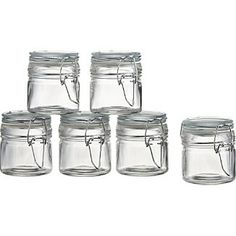 $11  Set of 6 Mini Spice Jars with Clamp    NEED