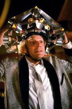 Christopher Lloyd en Back to the Future