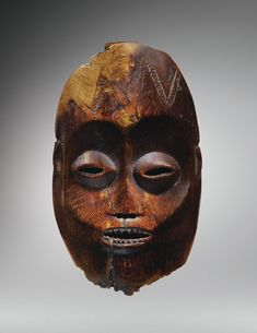 LEGA IVORY MASK, DEMOCRATIC REPUBLIC OF THE CONGO -    haut. 19,5 cm 7 1/2 in