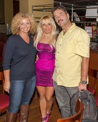 Tatiana Drucker, Sabrina A. Parisi, Martin Hubert attending the 2015 American Film Market (AFM) - Kitesurfing TV Launch Party with Breaking Glass Pictures held at the Lounge at 1733 Ocean Avenue in Santa Monica, CA, USA on 11/08/2015 | GVA-000403
