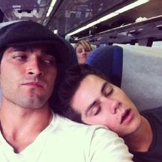 Love these two! (Stolen from Tyler Hoechlin's Instagram) ;)