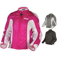 Fly Street Coolpro II Mesh Womens Motorcycle Jackets