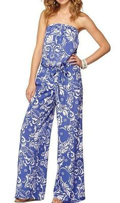 Lilly Pulitzer Farrah Strapless Jumpsuit