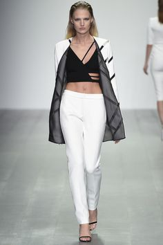 David Koma Spring 2015. Yes please. I want every single one of these pieces.