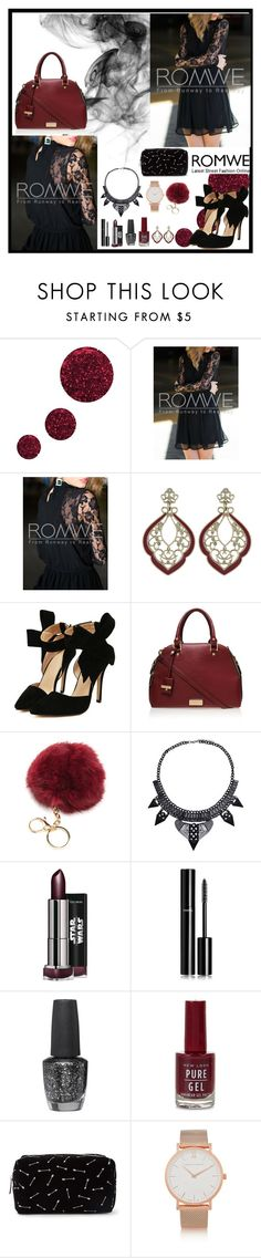 """Romwe 6"" by amra-f ❤ liked on Polyvore featuring Topshop, Carvela Kurt Geiger, Chanel, OPI, Forever 21 and Larsson & Jennings"