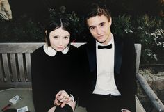 Emily Browning & Max Irons.