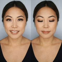 Loving matte eyeshadows these days. mink lashes and airbrush makeup as always for our brides long day. Makeup and Hair by… Asian Wedding Makeup, Simple Wedding Makeup, Wedding Makeup For Brown Eyes, Bridal Makeup Looks, Bridal Hair And Makeup, Wedding Hair And Makeup, Hair Makeup, Bride Makeup Asian, Asian Bridal Hair